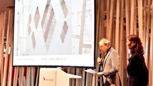Preisverleihung durch Frau Bacht, AIT und Norbert Kern, KERN-DESIGN (Foto:Sabine Kober)