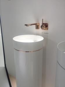 Waschsäule Porzellan ISH 2015