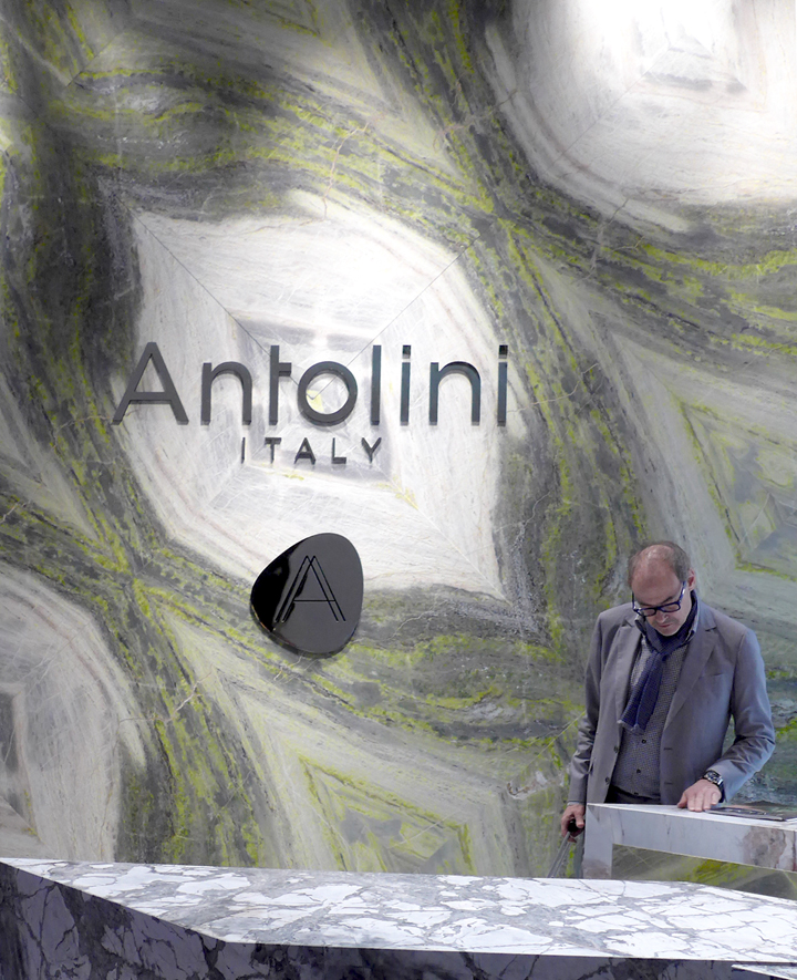 Antolini at Salone del Mobile Milano with KernDesign.Studio