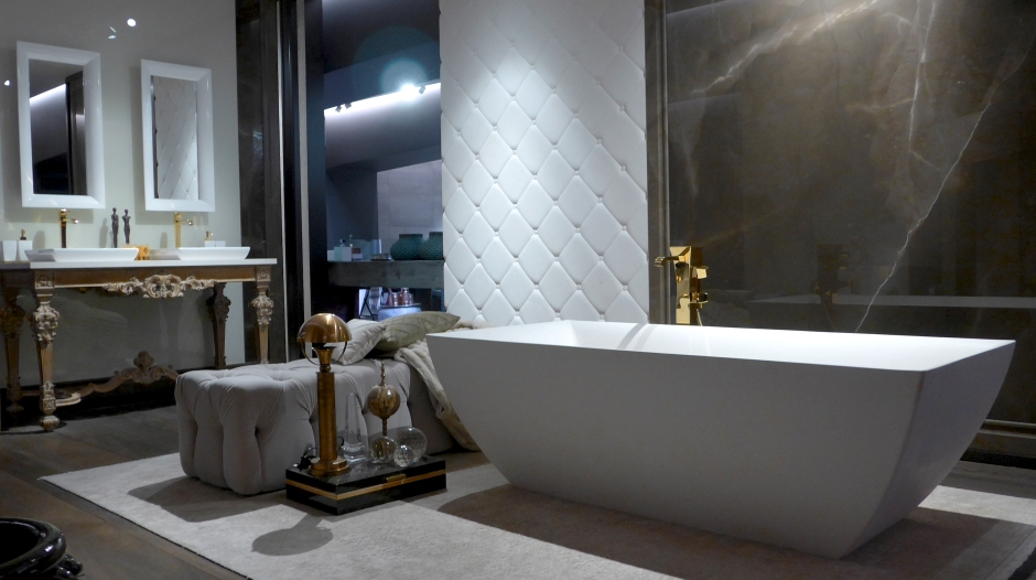 Bathroom composition in Modern Classic style by Gessi (Foto: Konstantin Kern)